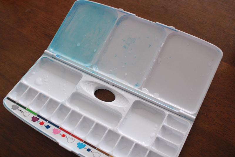 【掃除】小学校の絵の具セット!子供の汚いパレットを綺麗にする洗い方は?