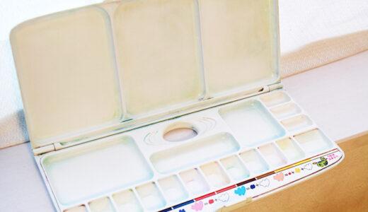 【解決】小学校の絵の具セット!子供の汚いパレットを綺麗にする洗い方は?